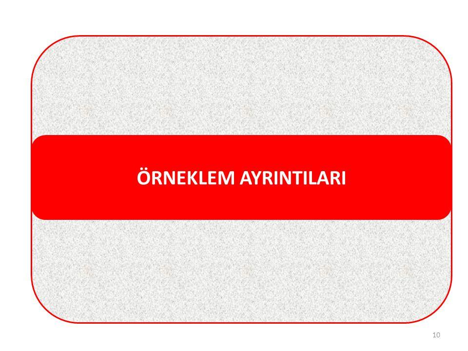 ÖRNEKLEM AYRINTILARI 10