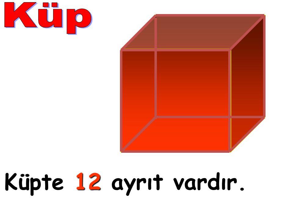 Küpte 1 11 12 ayrıt vardır.