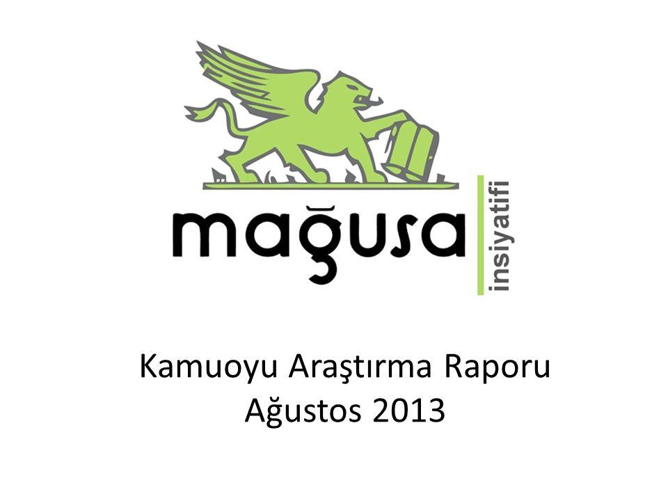 Kamuoyu Araştırma Raporu Ağustos 2013