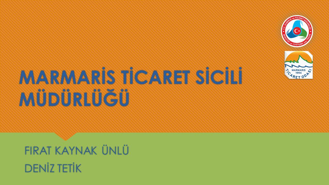 1)Misyonumuz ve Vizyonumuz:  6102 Sayılı Türk Ticaret Kanunu ve Ticaret Sicili Yönetmeliği ile belirtilen yasal hükümler çerçevesinde ticaret sicili kayıtlarının tam ve sağlıklı tutulmasını ve emredici hukuk kuralları çerçevesinde kayıtların aleniyetinin ve üçüncü kişiler dahil tarafların hukuki güvenliğinin teminat altına alınmasını sağlamaktır.