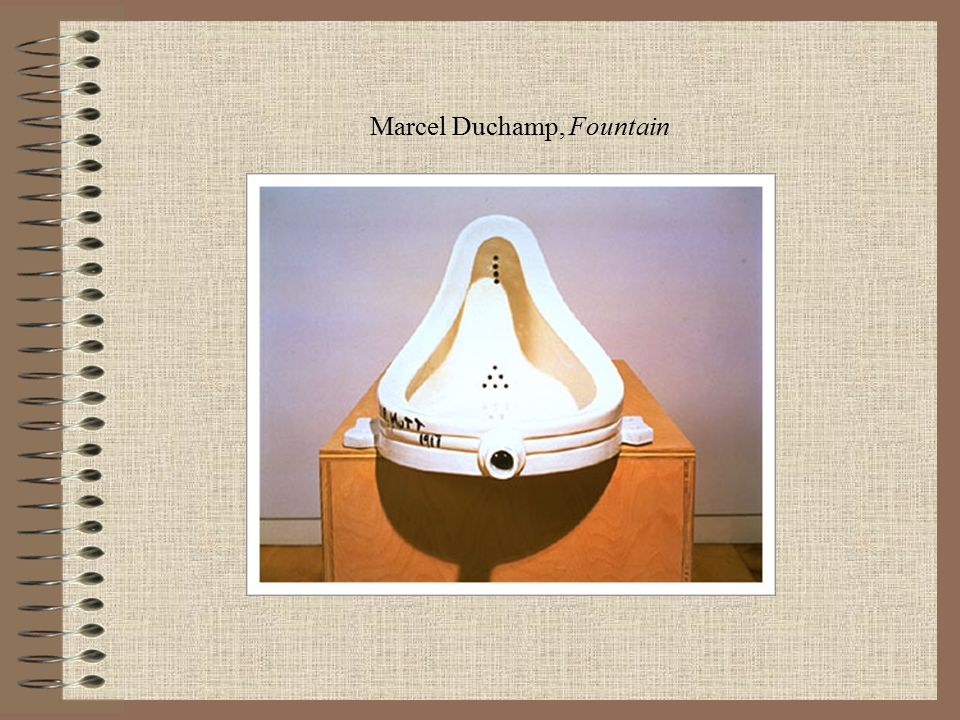 Marcel Duchamp, Fountain