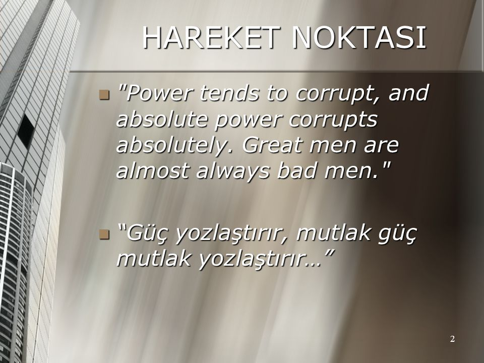 power tends to corrupt and absolute power corrupts absolutely essay Power tends to corrupt, and absolute power corrupts absolutely great men are almost always bad men, even liberty is not the power of doing what we like, but the right of being able to do what we ought[26] the wisdom of divine rule appears not in the perfection but in the improvement of the world.