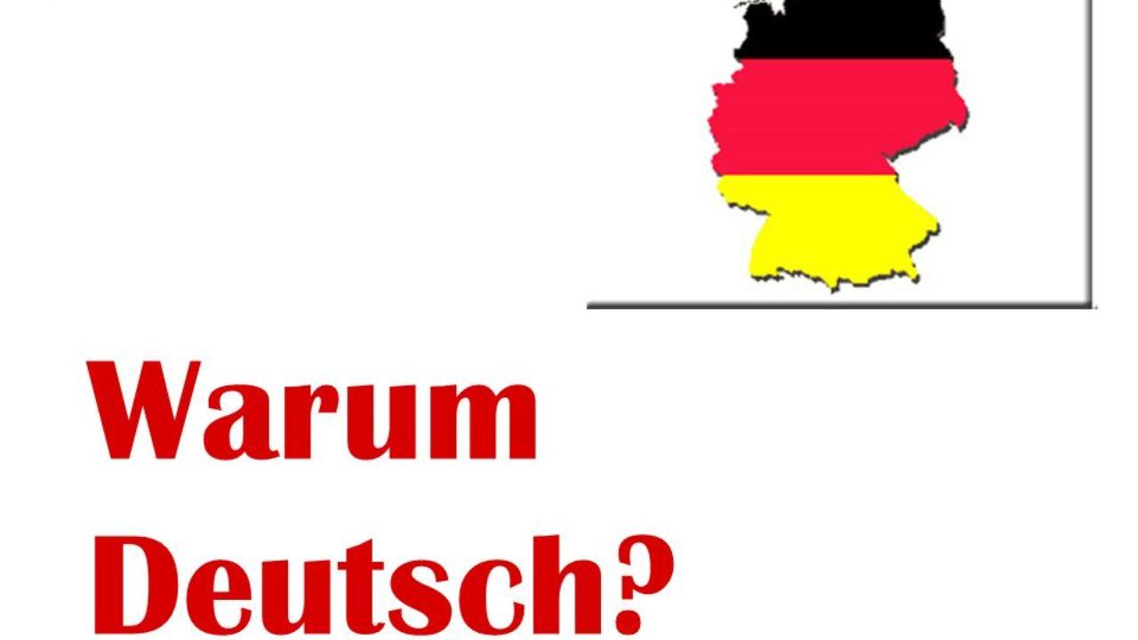 Wir Lernen Deutsch Almanca önemlidir çünkü Avrupanın Birçok