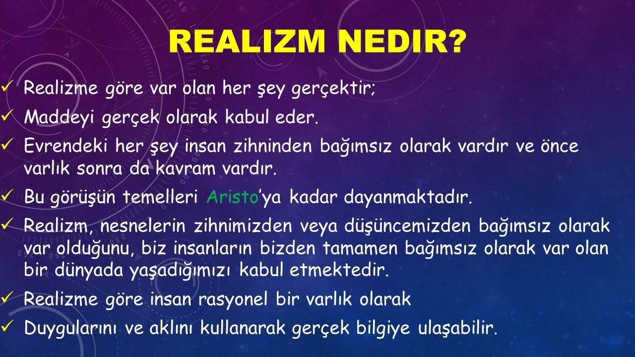 Realizm nedir